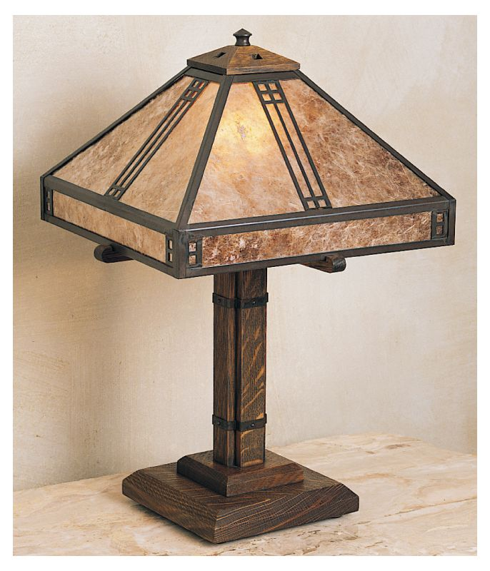 Arroyo Craftsman PTL-12 Craftsman / Mission Table Lamp from the Sale $796.00 ITEM: bci364454 ID#:PTL-12-BZ :