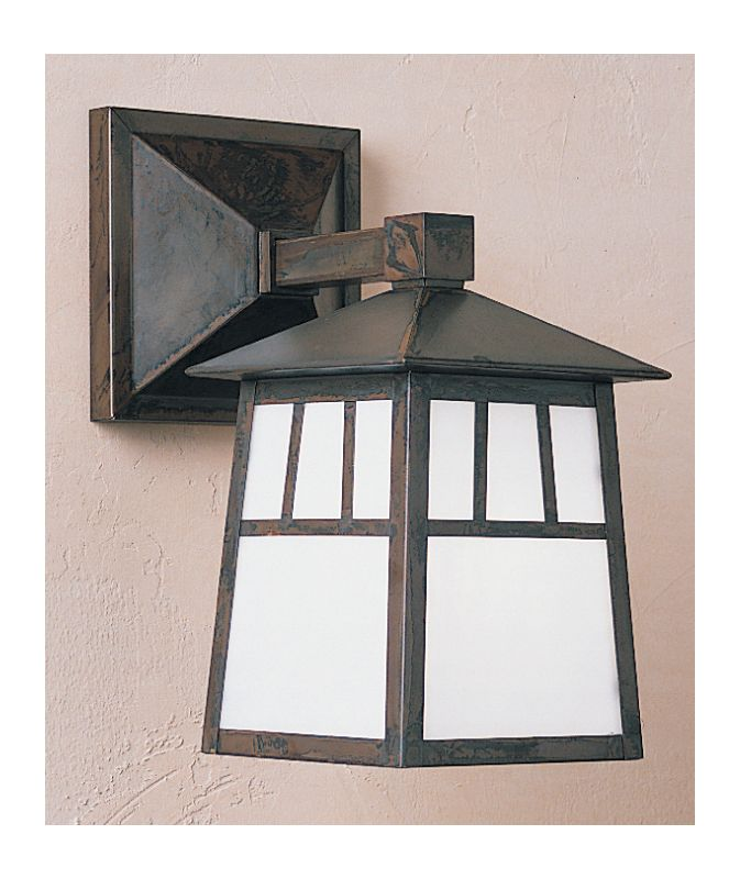 Arroyo Craftsman RB-6W Craftsman / Mission 1 Light Outdoor Wall Sconce