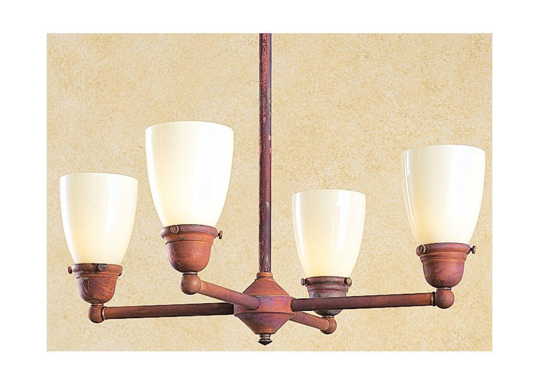 Arroyo Craftsman SCH-4U 4 Light Up Lighting Chandelier from the Sale $448.00 ITEM: bci370715 ID#:SCH-4U-RC UPC: 753174703405 :