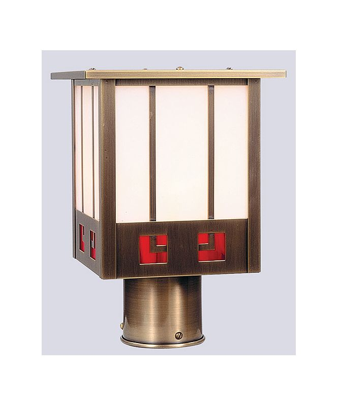 Arroyo Craftsman SSP-8 Craftsman / Mission 1 Light Post Light from the