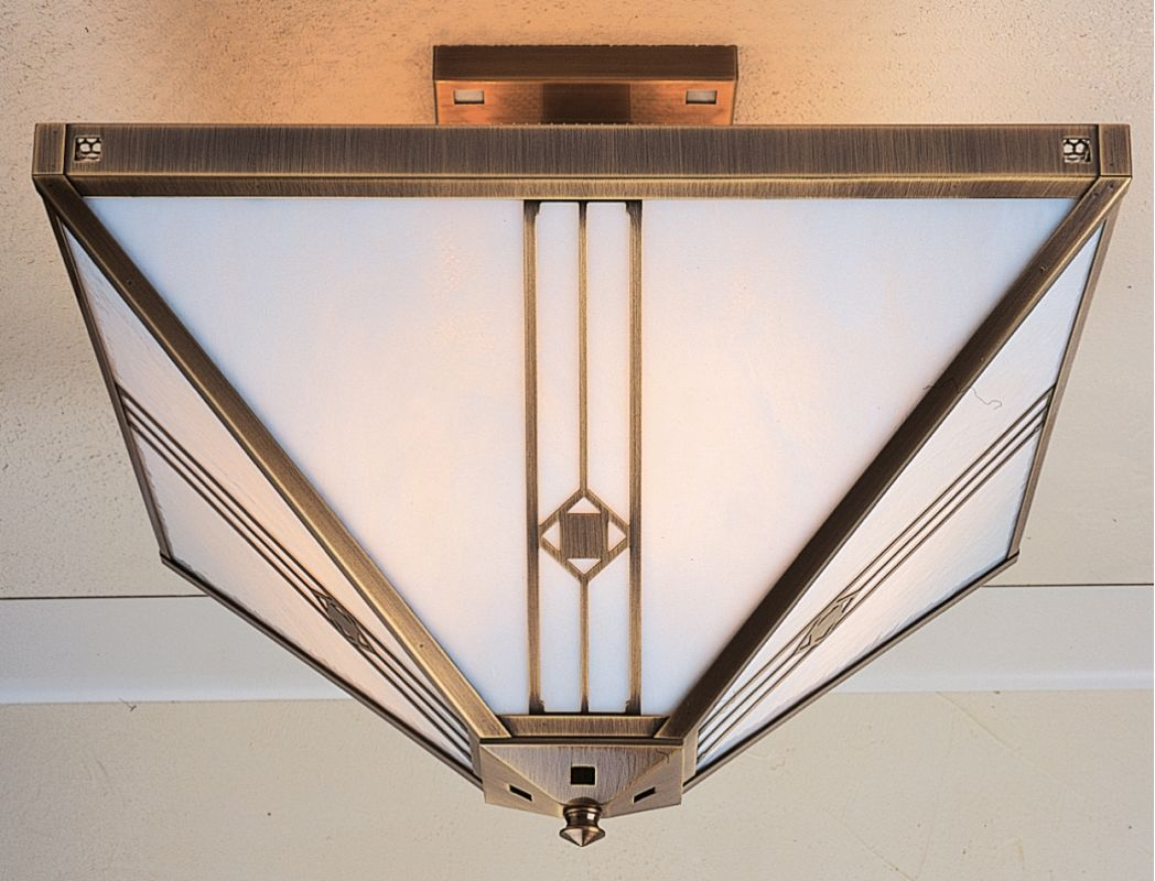 Arroyo Craftsman UIH-16 Craftsman / Mission Semi-Flush Ceiling Fixture Sale $788.90 ITEM: bci377069 ID#:UIH-16-AB :