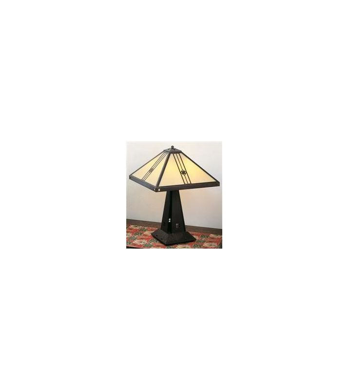 Arroyo Craftsman UTL-16 Craftsman / Mission Table Lamp from the