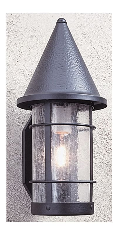 Arroyo Craftsman VS-7 Craftsman / Mission 1 Light Outdoor Wall Sconce Sale $384.00 ITEM: bci377970 ID#:VS-7-BK :