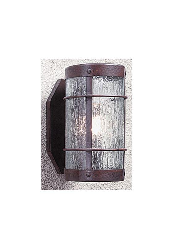 Arroyo Craftsman VS-7NR Craftsman / Mission Down Lighting Wall Sconce