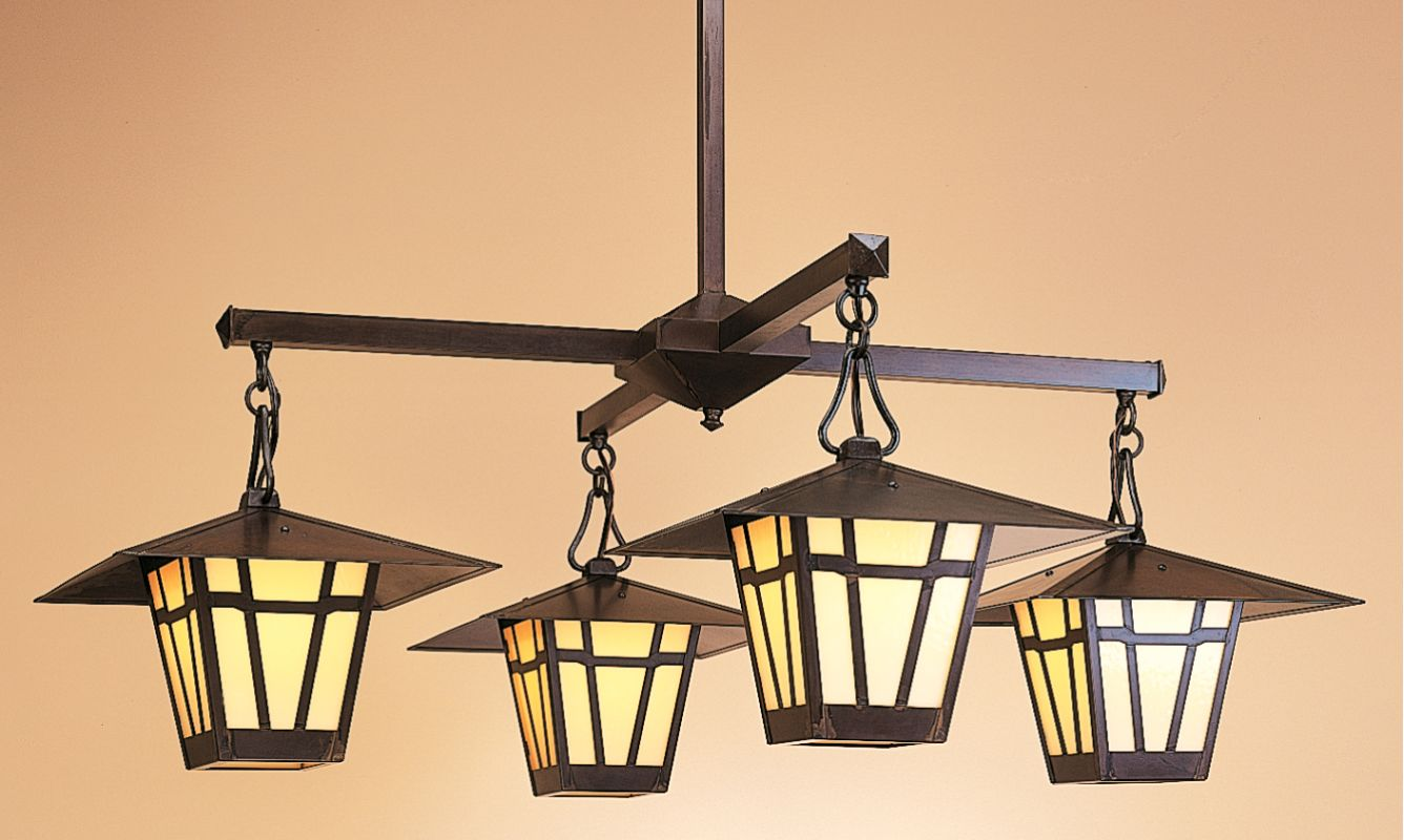 Arroyo Craftsman WCH-12/4 Craftsman / Mission 4 Light Down Lighting Sale $1504.00 ITEM: bci202423 ID#:WCH-12/4-BZ :