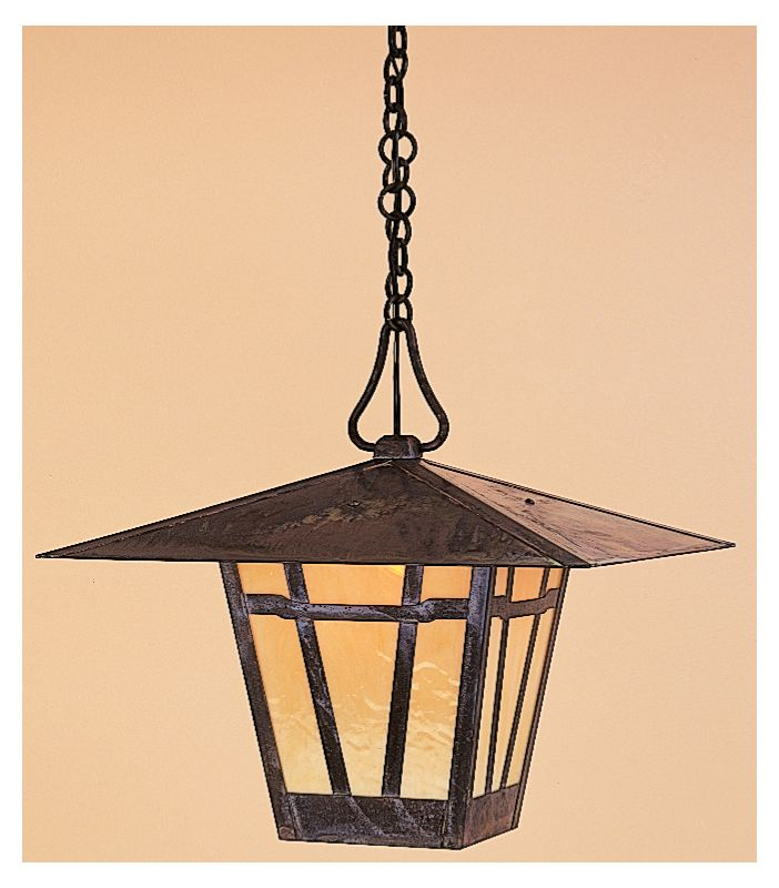 Arroyo Craftsman WH-17 Craftsman / Mission Single Light Pendant from