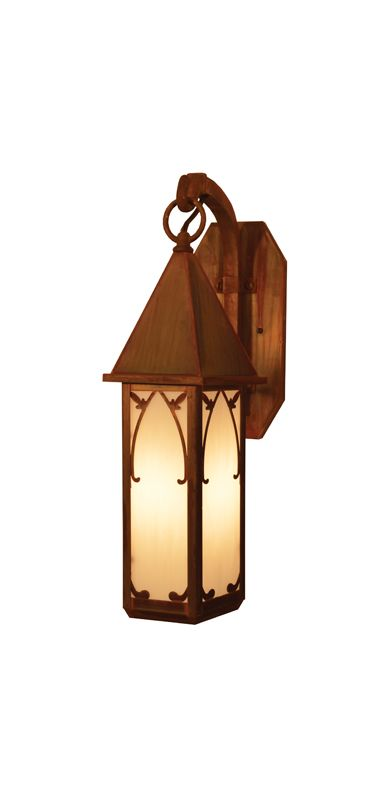 Arroyo Craftsman SGB-7 Craftsman / Mission 1 Light Outdoor Wall Sconce