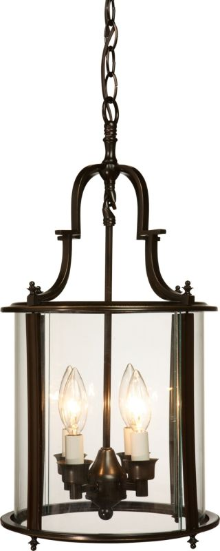Artcraft Lighting AC1321 Manor Pendant with 4 Lights - 11 Inches Wide