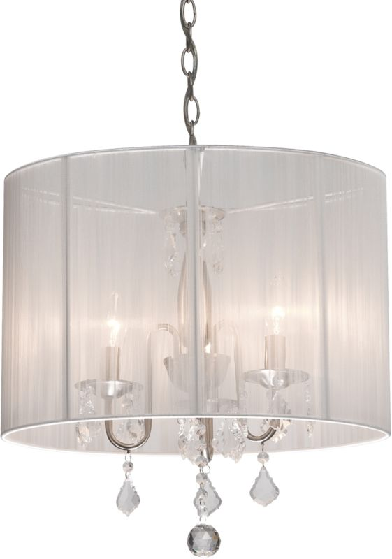 Artcraft Lighting AC380 Claremont Single-Tier Crystal Mini Chandelier