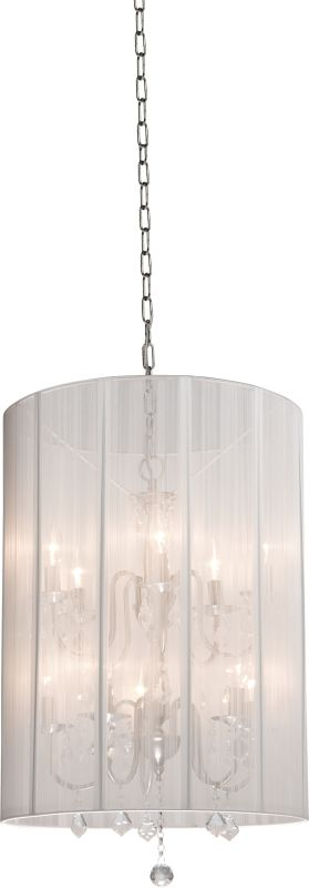 Artcraft Lighting AC383 Claremont 2-Tier Crystal Mini Chandelier with