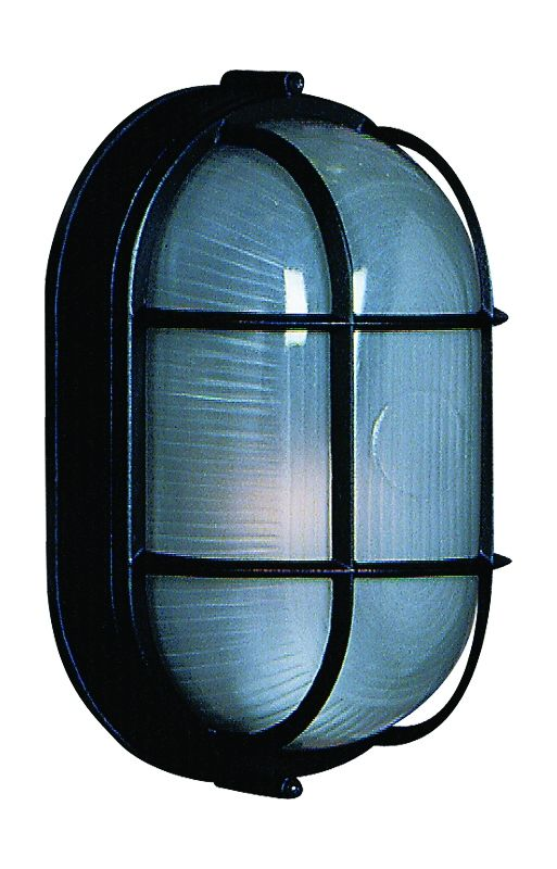Artcraft Lighting AC5662 Marine 1 Light Outdoor Wall Sconce Black