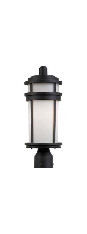 Artcraft Lighting AC8083 Columbia 1-Bulb Line Voltage Post Light Black