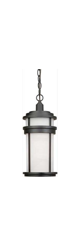 Artcraft Lighting AC8085 Columbia 1 Light Lantern Pendant Black
