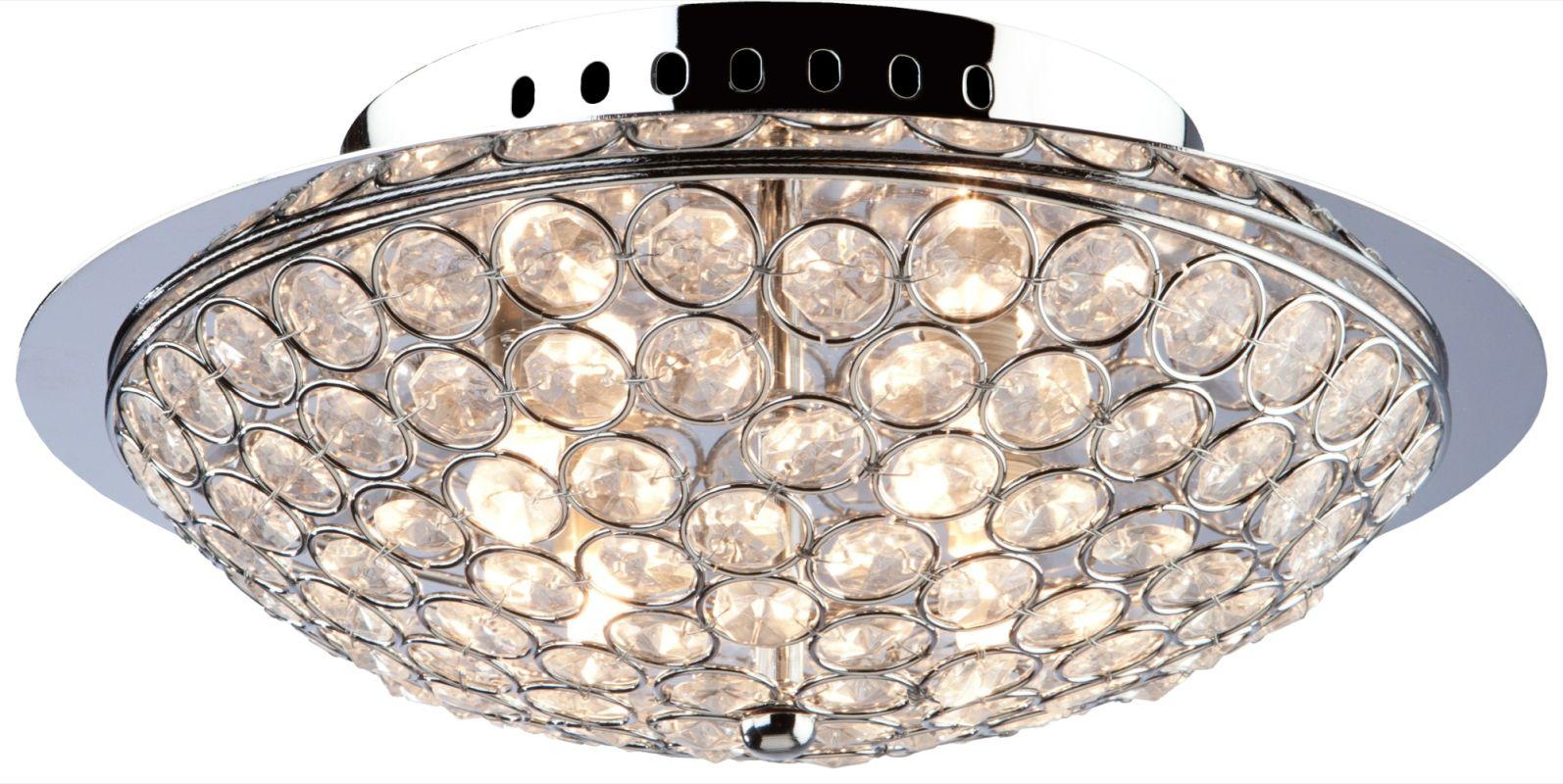 Artcraft Lighting AC10100 Gage Park 3 Light Flush Mount Ceiling