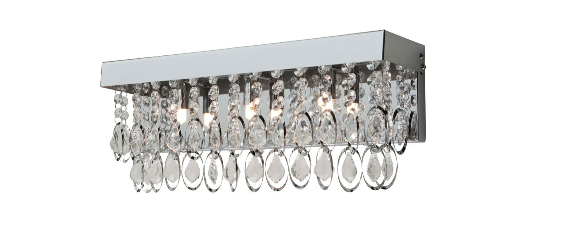 Artcraft Lighting AC10113 Elegante 3 Light 18&quote Vanity Light Chrome