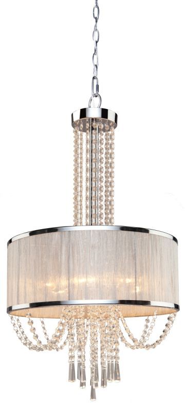 Artcraft Lighting AC10385 Valenzia 6 Light Crystal Mini Chandelier -