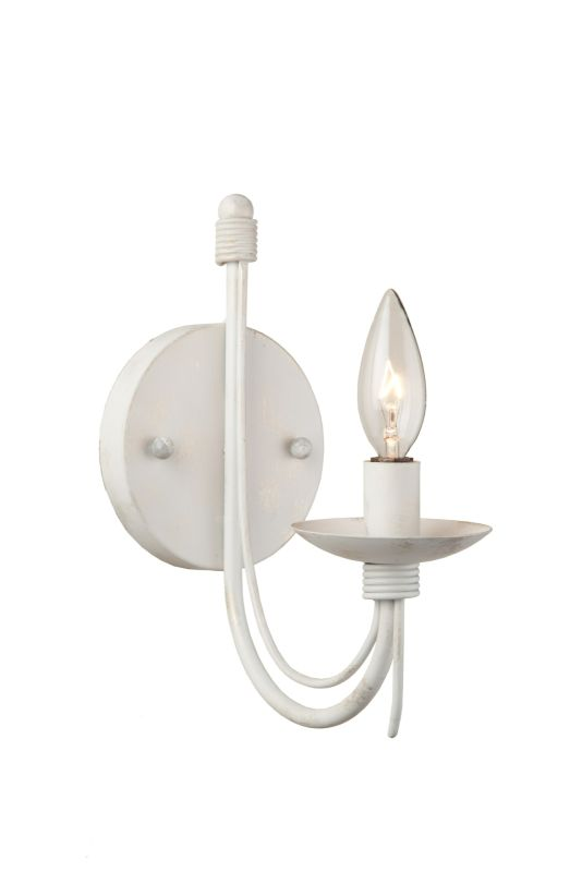 Artcraft Lighting AC1481EB 1 Light Wall Sconce Black Indoor Lighting