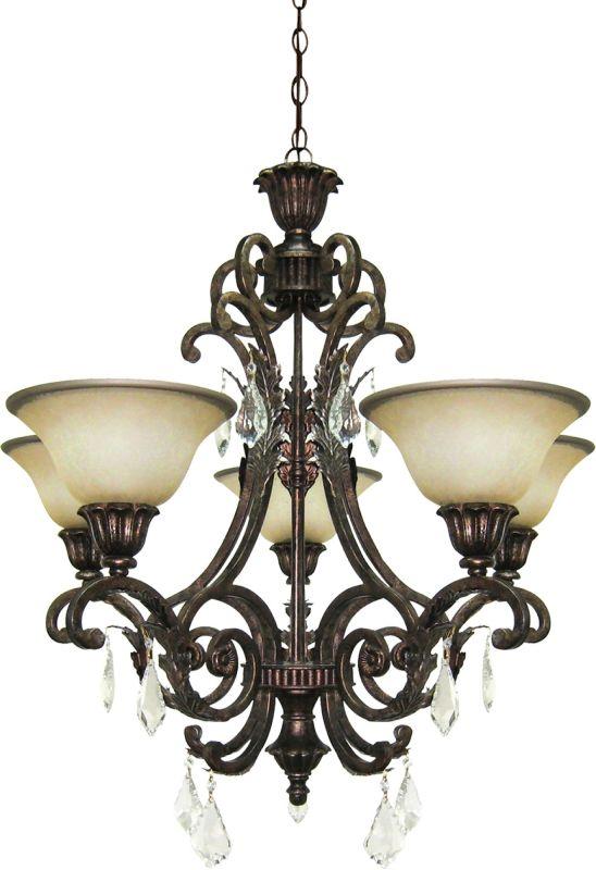 Artcraft Lighting AC1827 Florence 5 Light Crystal Chandelier - 28 Sale $727.00 ITEM: bci1045166 ID#:AC1827 UPC: 778350182706 :