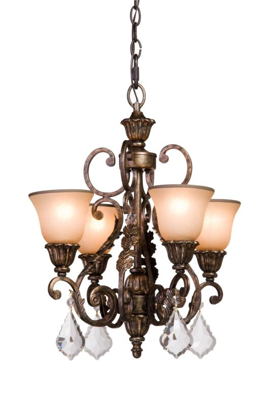 Artcraft Lighting AC1844 Florence 4 Light Crystal Mini Chandelier - 20 Sale $643.00 ITEM: bci1471173 ID#:AC1844 UPC: 778350184403 :