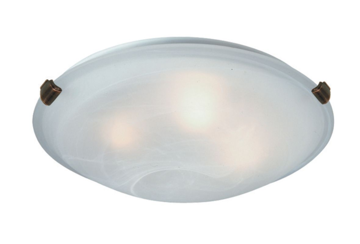 Artcraft Lighting AC2351SPBU 2 Light Flush Mount Ceiling Fixture Sale $41.00 ITEM: bci2494487 ID#:AC2351SPBU :