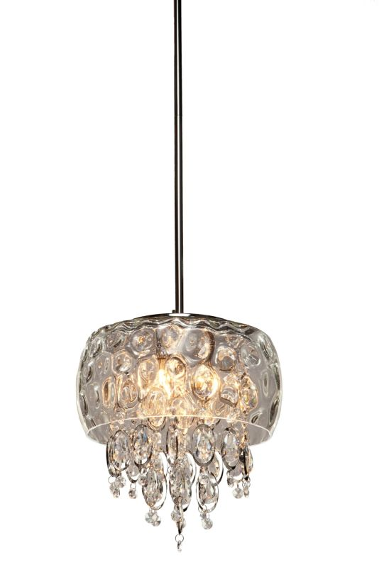 Artcraft Lighting AC443 Malibu 3 Light Pendant Chrome Indoor Lighting Sale $342.00 ITEM: bci2494387 ID#:AC443 UPC: 778350443005 :