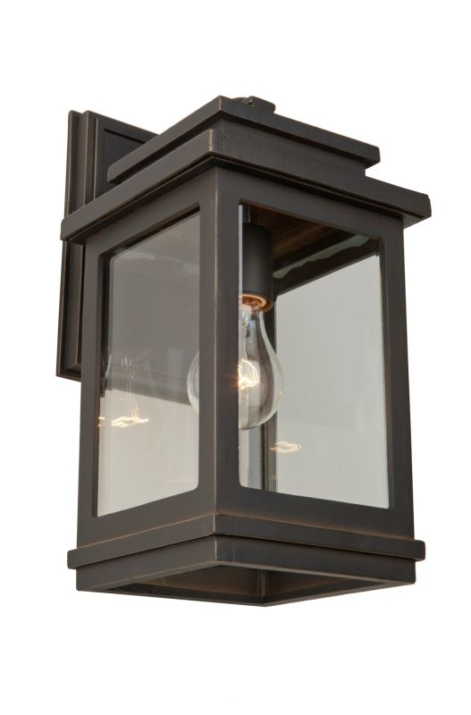 Artcraft Lighting AC8390ORB Fremont 1 Light Outdoor Wall Lantern Oil
