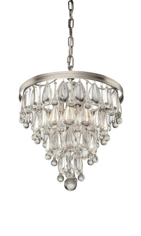 Artcraft Lighting CL15004 Pebble 4 Light Crystal Mini Chandelier - 14