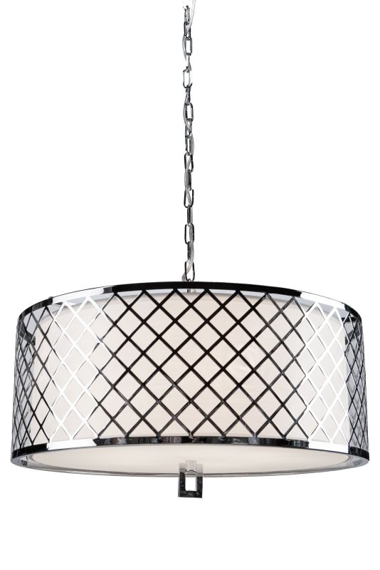 Artcraft Lighting SC965 Trellis 5 Light Drum Pendant Chrome Indoor Sale $636.00 ITEM: bci2494827 ID#:SC965 UPC: 778350965002 :