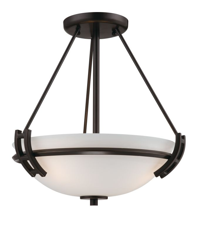 Artcraft Lighting AC4333OB Andover 2 Light Semi-Flush Ceiling Fixture Sale $182.00 ITEM: bci1951217 ID#:AC4333OB UPC: 778350433310 :