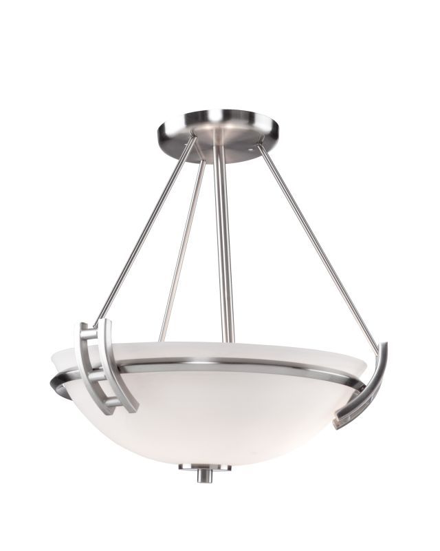 Artcraft Lighting AC4333PN Andover 2 Light Semi-Flush Ceiling Fixture Sale $187.00 ITEM: bci1951218 ID#:AC4333PN UPC: 778350433372 :