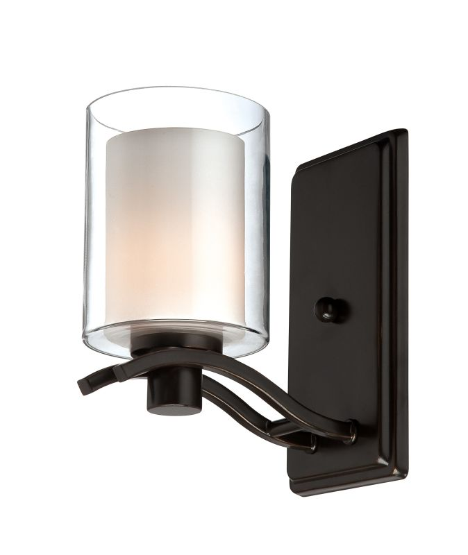 Artcraft Lighting AC5731OB Andover 1 Light Wall Sconce Oiled Bronze Sale $91.00 ITEM: bci1951219 ID#:AC5731OB UPC: 778350573115 :