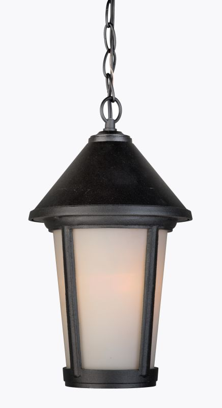 Artcraft Lighting AC8215BK Malibu 1 Light Lantern Pendant Black
