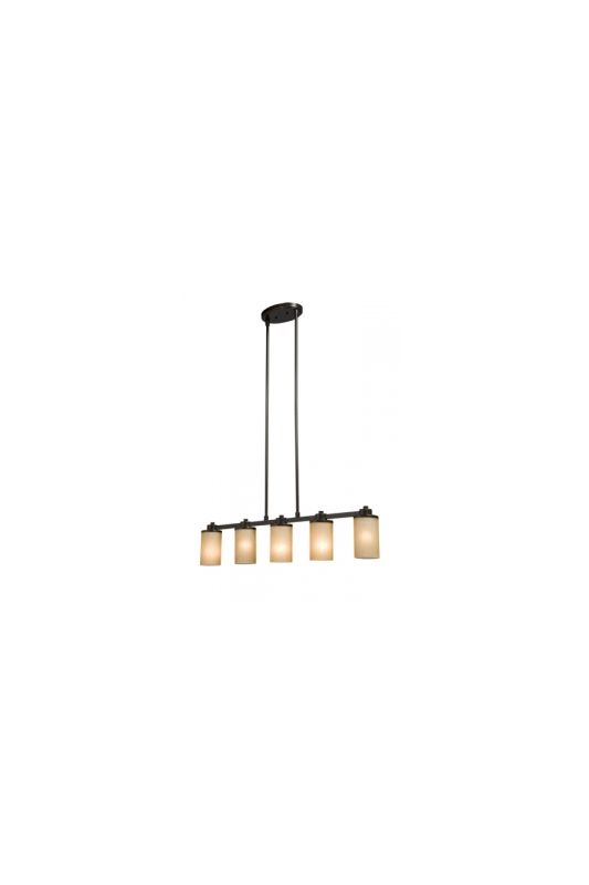 Artcraft Lighting AC1306 Parkdale Single-Tier Linear Chandelier with 5