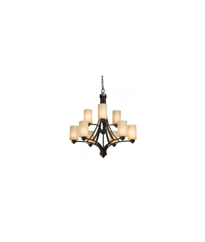 Artcraft Lighting AC1309 Parkdale Single-Tier Chandelier with 9 Lights Sale $621.00 ITEM: bci1830866 ID#:AC1309OB UPC: 778350130912 :
