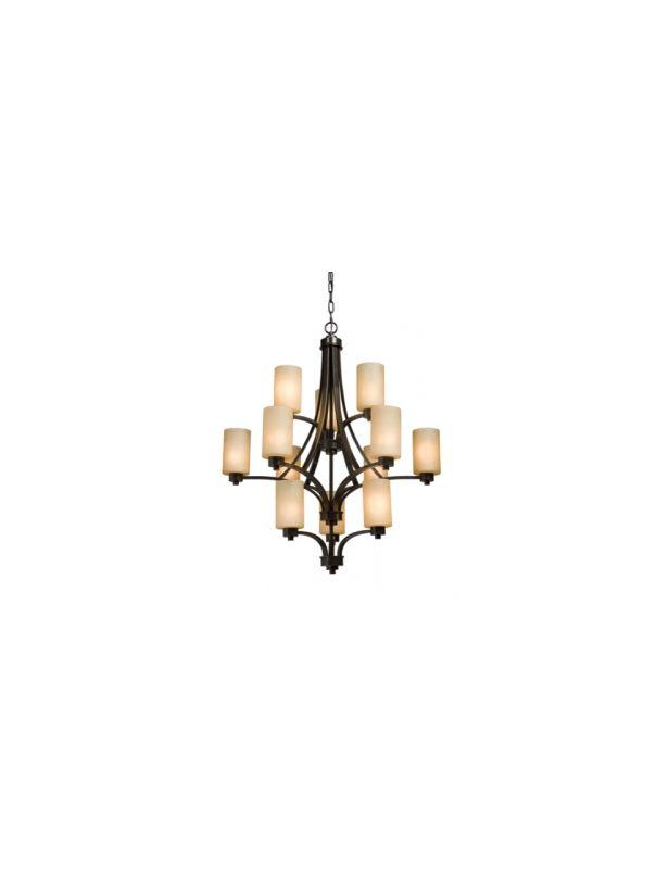 Artcraft Lighting AC1312 Parkdale Single-Tier Chandelier with 12 Sale $1051.00 ITEM: bci1830868 ID#:AC1312OB UPC: 778350131216 :