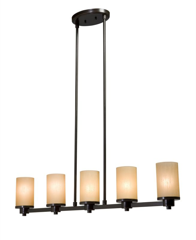 Artcraft Lighting AC1315 Parkdale Single-Tier Linear Chandelier with 5