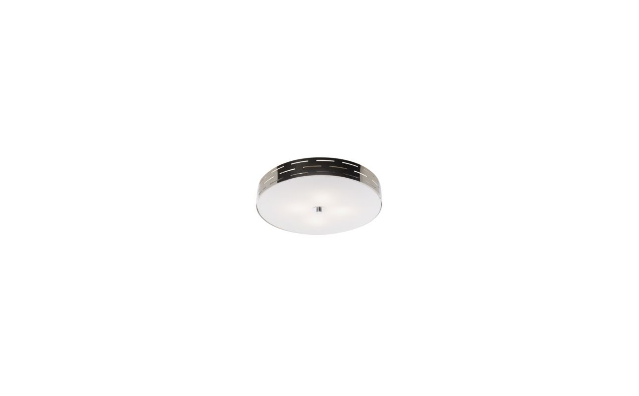 Artcraft Lighting AC6005 Seattle 3 Light Flush Mount Ceiling Fixture