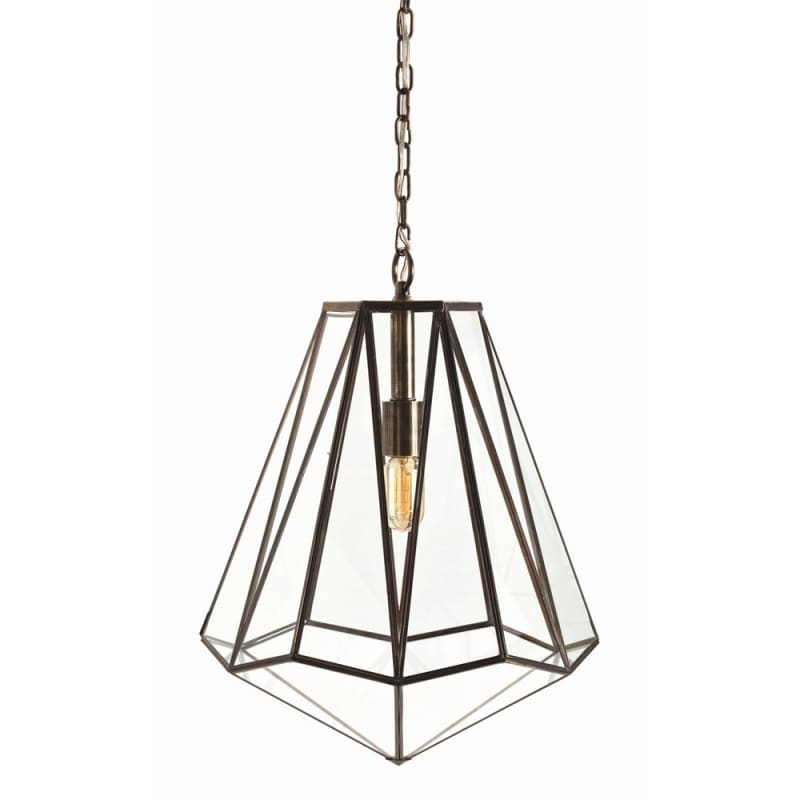 "Arteriors 46361 Edmond 16"" Wide Single Light Pendant Clear Indoor"