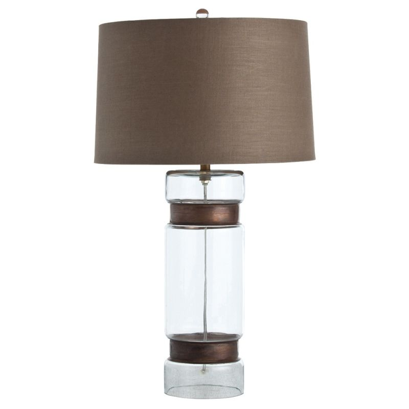 "Arteriors 46633-163 Garrison 1 Light 27.5"" Tall Table Lamp with Socket"