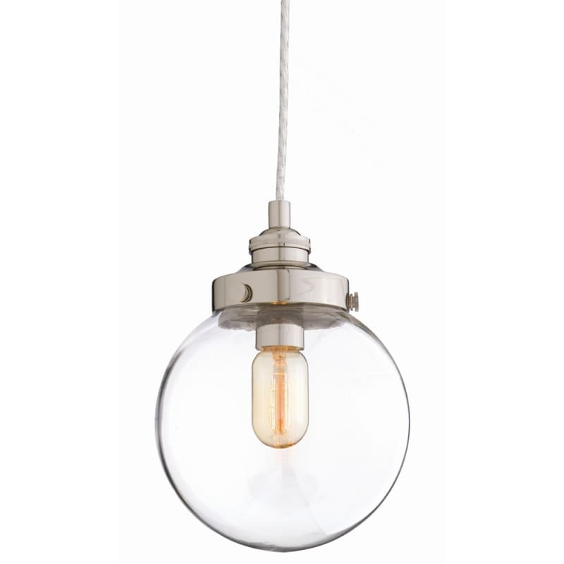 "Arteriors 49911 Reeves 7"" Wide Single Light Pendant Clear Indoor"