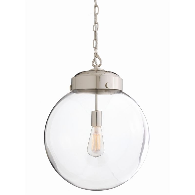"""Arteriors 49912 Reeves 15"""" Wide Single Light Pendant Clear Indoor"""