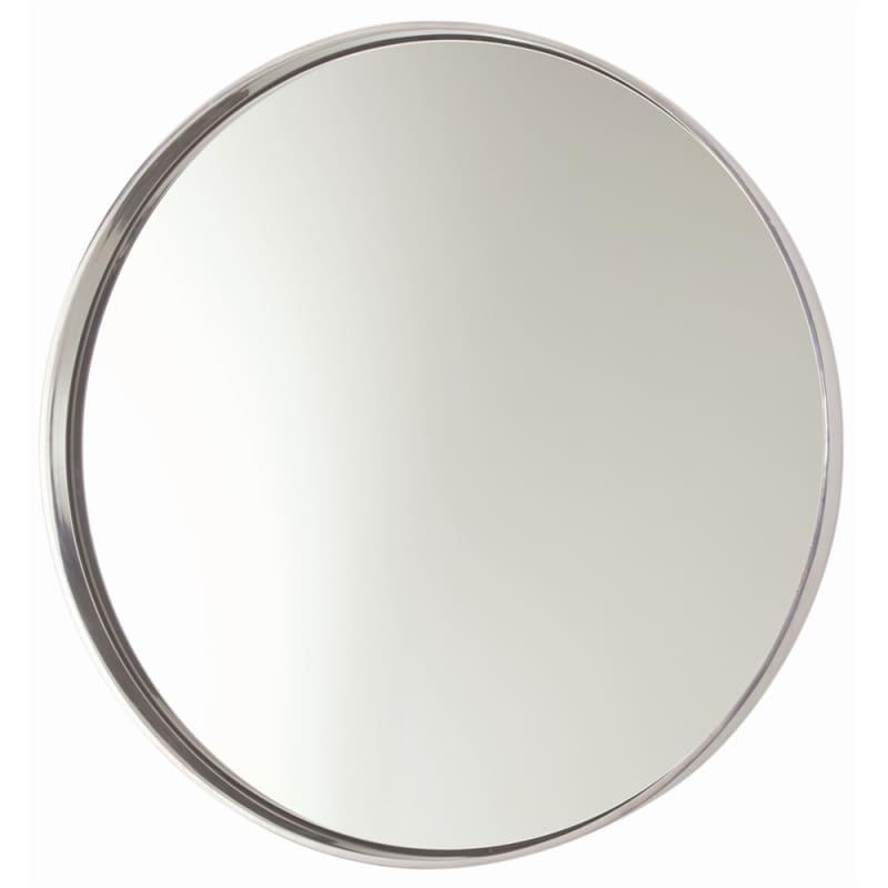 Arteriors 6497 Ollie 30.5 Inch Circular Aluminum Framed Mirror