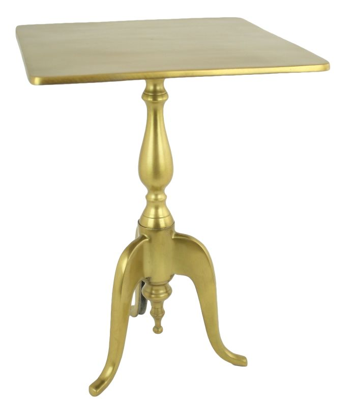 Aspire Home Accents 2406 Marcelle Accent Table Gold Furniture End