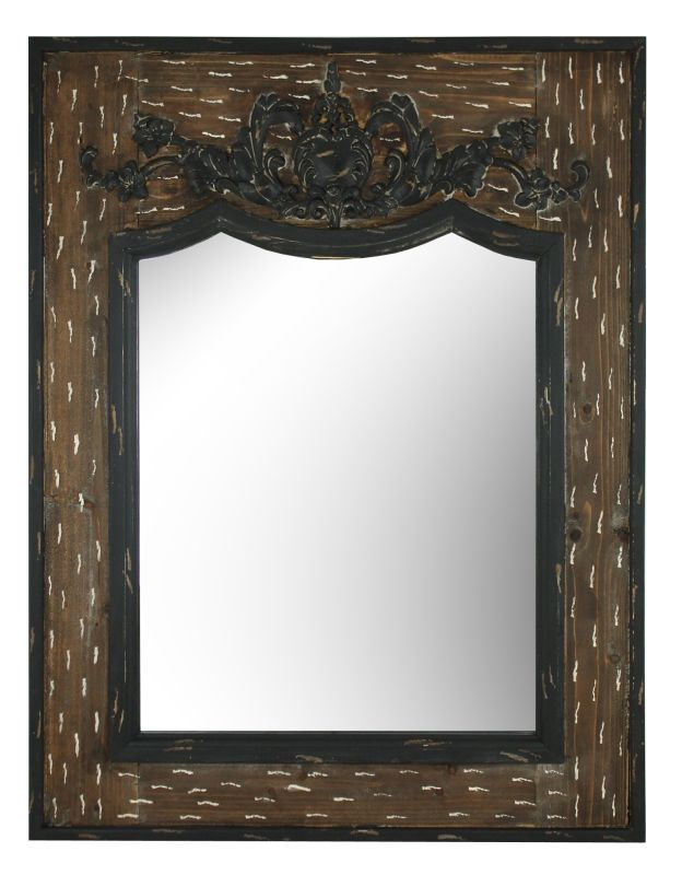 Aspire Home Accents 5327 Wisteria Wall Mirror Brown Home Decor