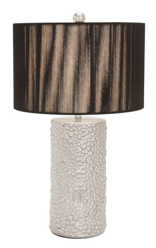 Aspire Home Accents 69677 Arati VI Table Lamp Silver / Black Lamps