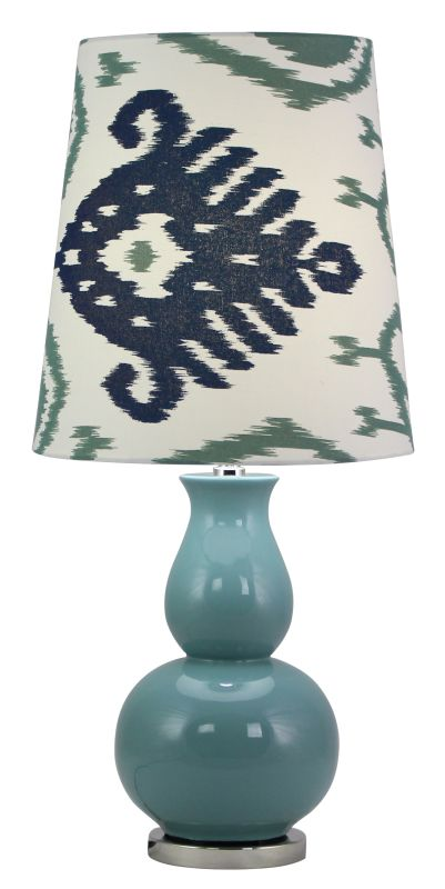 Aspire Home Accents 4135 Sasha Blue Ceramic Table Lamp Blue Lamps