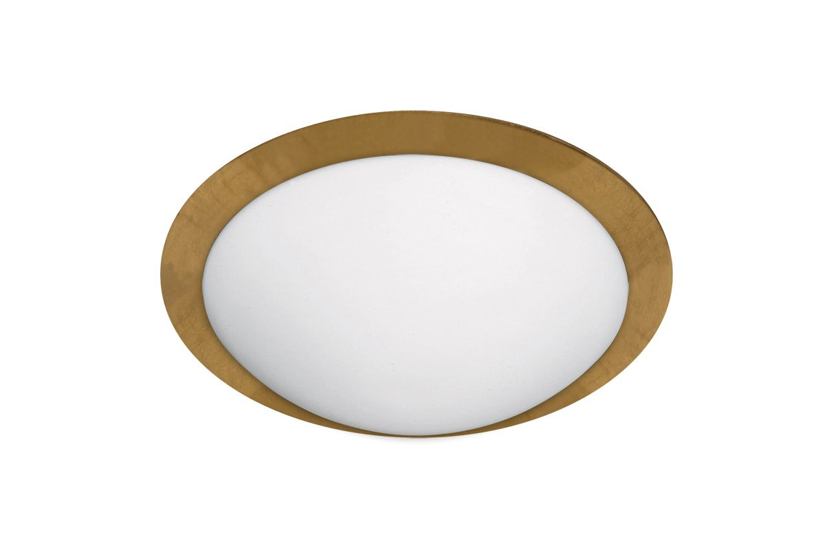 BESA Lighting 9771GFC Ring 2 Light Flush Mount Ceiling Fixture with