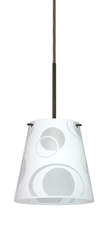 BESA Lighting 1BT-4477CS Amelia 1 Light Cord-Hung Mini Pendant with