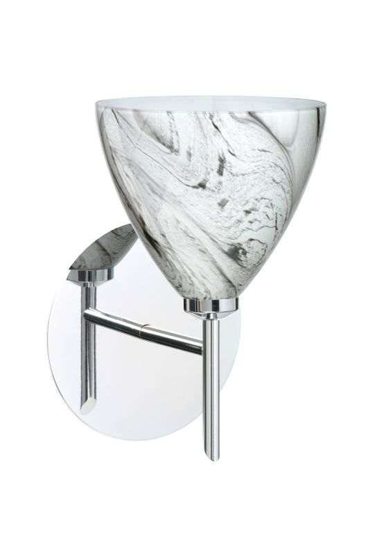 BESA Lighting 1SW-1779MG Mia 1 Light Halogen Bathroom Sconce with Sale $184.50 ITEM: bci2381329 ID#:1SW-1779MG-CR UPC: 767893611118 :