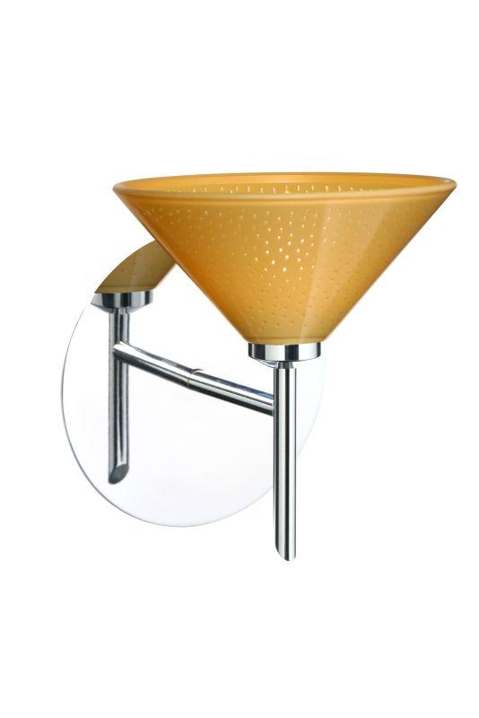 BESA Lighting 1SW-282490 Kona 1 Light Halogen Bathroom Sconce with Sale $162.00 ITEM: bci873998 ID#:1SW-282490-CR UPC: 767893906153 :
